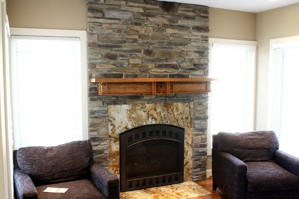 how to remove gas fireplace mantel