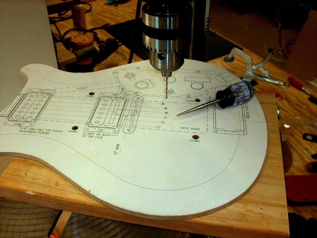 Pergola and other guitar body templates sale for Electric guitar body templates